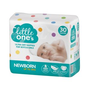 Woolworths Little Ones Newborn Nappies