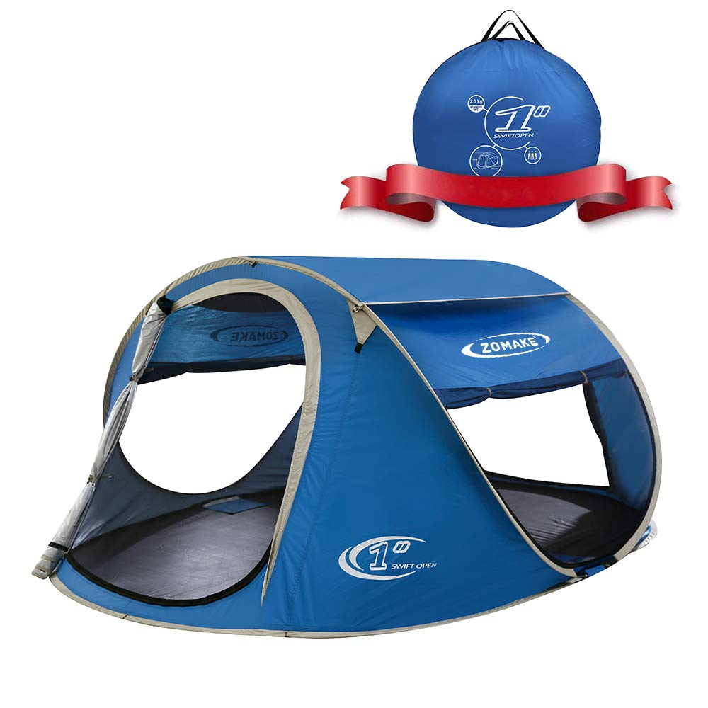 Zomake 4-person pop up instant tent