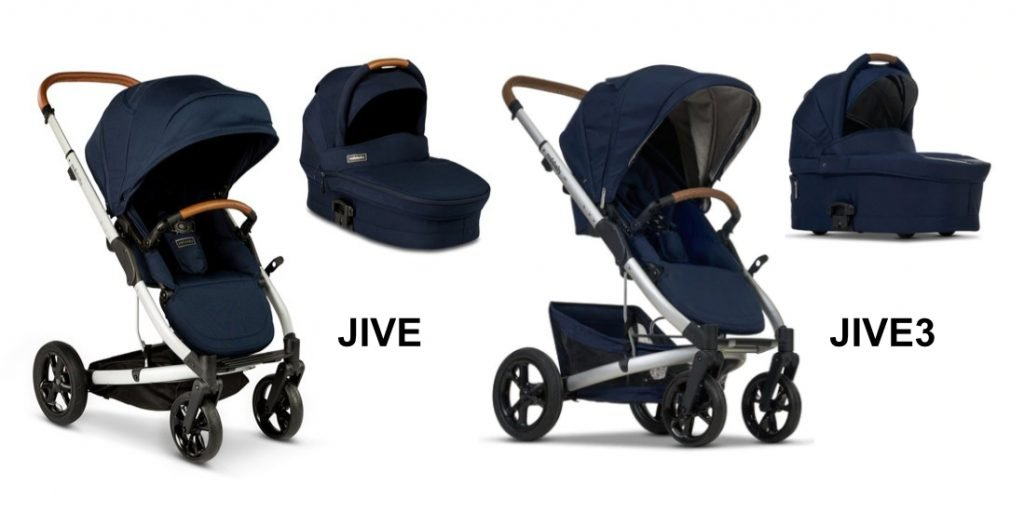 Side by side comparison of Redsbaby Jive and Jive3
