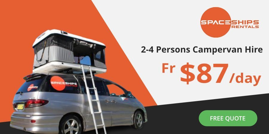 Spaceships Rentals Australia - Affordable campervan hire for 2 to 4 people