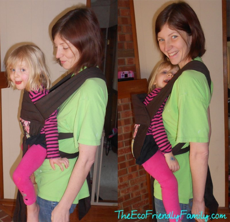 forward front facing vs inward front carry in a carrier